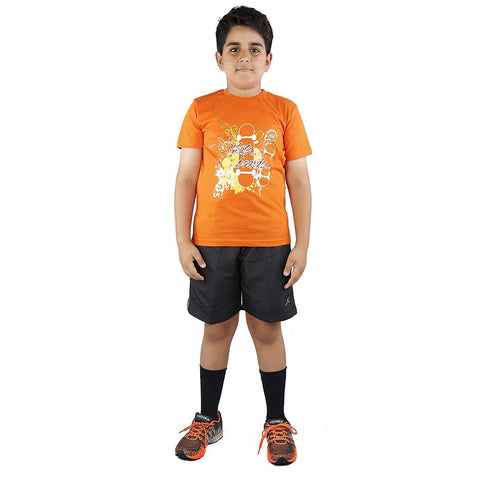 Vector X Cotton Kids T-shirt Orange - Best Price online Prokicksports.com