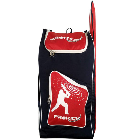 Prokick Backpack Style Cricket Kit Bag - Red - Prokicksports.com