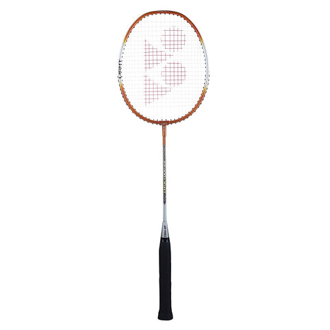 Yonex ZR 100 Light Aluminum Badminton Racquet Strung, Grip Size G4 (Orange) - Best Price online Prokicksports.com
