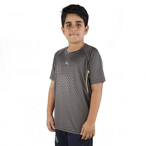 Vector X Polyester Kids T-shirt Grey - Best Price online Prokicksports.com