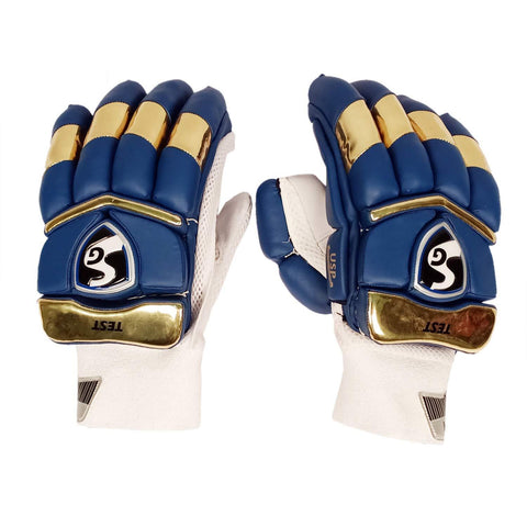 SG 2020 Edition Test Professional RH Batting Gloves - Navy/Gold (Mumbai) - Best Price online Prokicksports.com