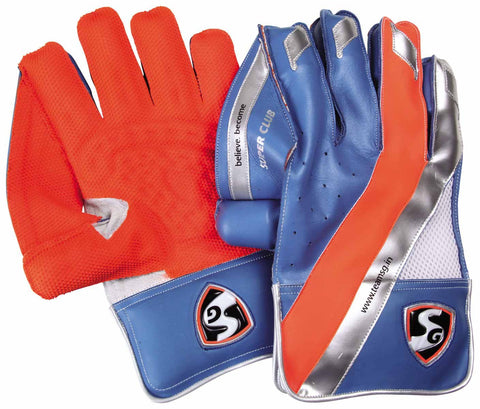 SG Super Club Wicket Keeping Gloves - Best Price online Prokicksports.com