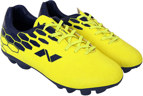 Nivia 310Y Premier Cleats Football Studs, Yellow/Royal Blue - Best Price online Prokicksports.com