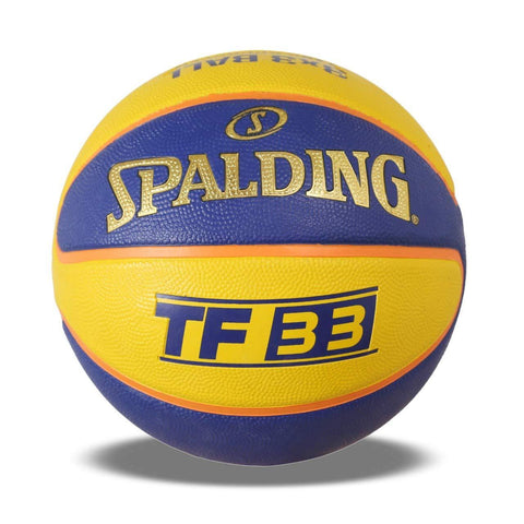 Spalding BB-SPALDING-TF-33-YLW-BLU-6 Basketball, Size 6 (Yellow-Blue) - Best Price online Prokicksports.com