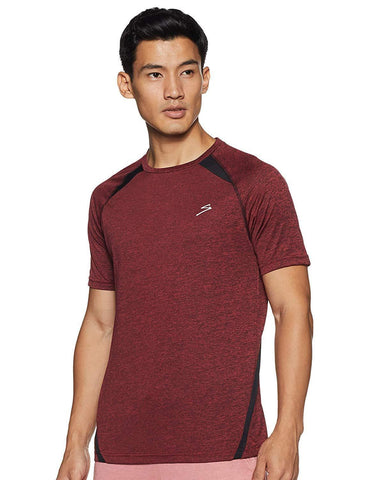 SG RTS2290 Polyester Round Neck Sports T-Shirt - Red - Best Price online Prokicksports.com
