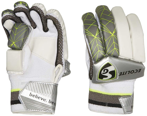 SG Batting Gloves ECOLITE LH Cotton Left Hand Batting Glove (Muticolor) - Best Price online Prokicksports.com