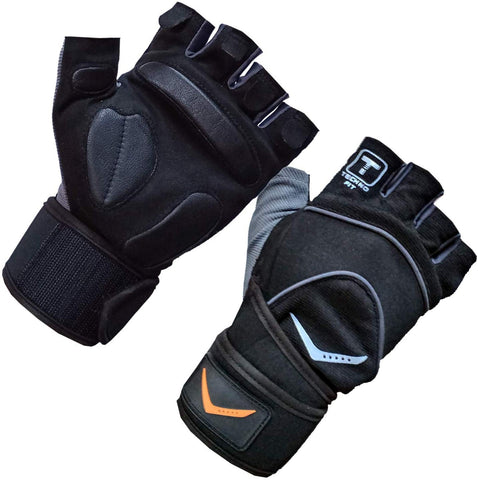 Vicky Elite Fitness Gym Gloves - Grey - Best Price online Prokicksports.com