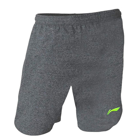 Li-Ning Turbo Dri Plain Badminton Shorts New Black/Lime - Best Price online Prokicksports.com