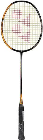 Yonex Astrox Smash Light Weight Badminton Racquet (73g/G4) (Black Clear Orange) - Best Price online Prokicksports.com