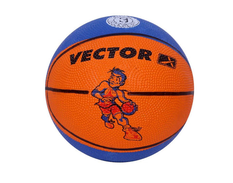Vector X Toon Basketball, Men's Size 3 Blue/Orange - Best Price online Prokicksports.com
