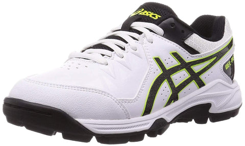 ASICS Gel-Peake 6 Cricket Shoes White/Black - Best Price online Prokicksports.com