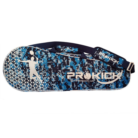 Prokick 2020 Camo Fusion Latest Edition Badminton Kitbag with Double Zipper Compartment - Blue Camo Fusion - Best Price online Prokicksports.com