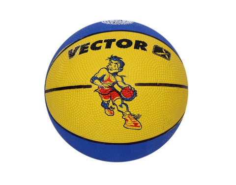 Vector X Toon Basketball, Men's Size 3 Blue/Yellow - Best Price online Prokicksports.com