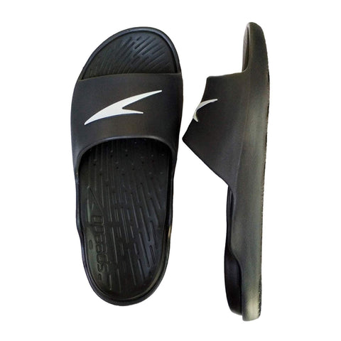 Speedo Extra-Light Water Resistant Slippers Flip-Flops - (Black/Oxidegrey/White) - Best Price online Prokicksports.com