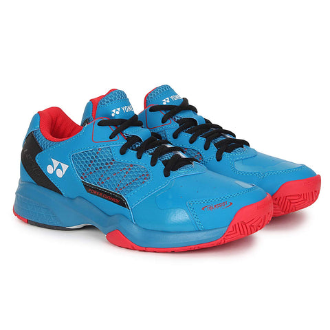 Yonex Lumio 2 Professional Power Cushion Tennis Shoes - Blue/Red - Best Price online Prokicksports.com