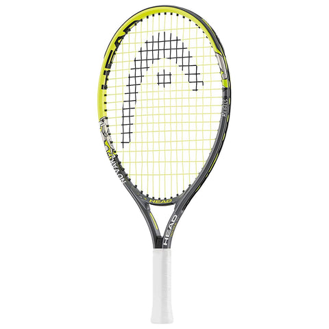 Head 232972 Novak Aluminum Tennis Racquet, Junior 23-inch (Yellow/Black) - Prokicksports.com