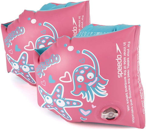 Speedo Tots Sea Squad Armbands, Pink/Blue - Best Price online Prokicksports.com