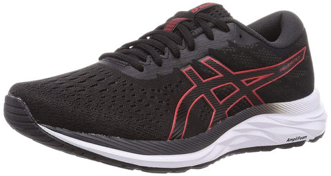 ASICS Men's Gel-Excite 7 Running Shoes Black/Classic Red - Best Price online Prokicksports.com