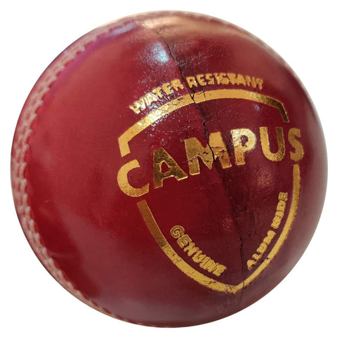 SG Campus Four Piece Leather Ball - Red - Best Price online Prokicksports.com