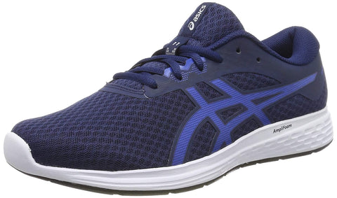 Asics Patriot 11 Men's Running Shoes, Blue Expanse/Imperial - Best Price online Prokicksports.com
