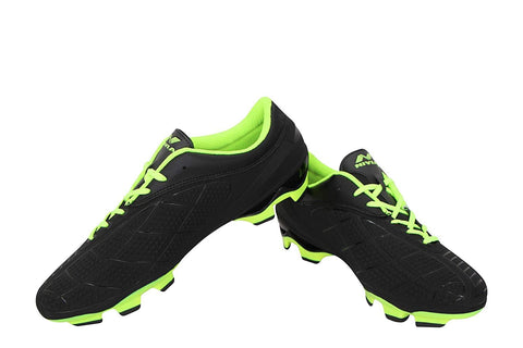 Nivia Dominator 2.0 Football Studs, Black/Green - Best Price online Prokicksports.com