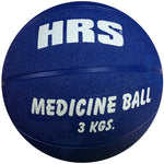 HRS Rubber Medine Ball, 3 kg (without handle), Blue - Best Price online Prokicksports.com