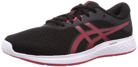Asics Patriot 11 Men's Running Shoes, Black/Speed Red - Best Price online Prokicksports.com