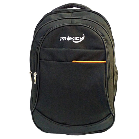 "Prokick""Big-5"" Panther Series Polyester 40L Backpack - Black - Prokicksports.com"