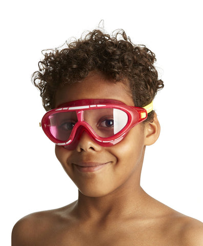 Speedo Unisex - Junior Rift Goggles (Pink/Yellow) - Best Price online Prokicksports.com