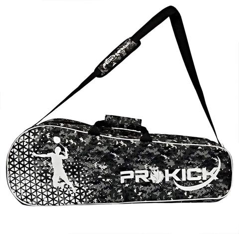 Prokick Badminton Kitbag with Double Zipper Compartments - Olive Camo - Best Price online Prokicksports.com