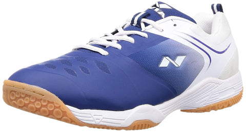Nivia HY-Court 2.0 Badminton Shoes for Men, Blue/White - Best Price online Prokicksports.com