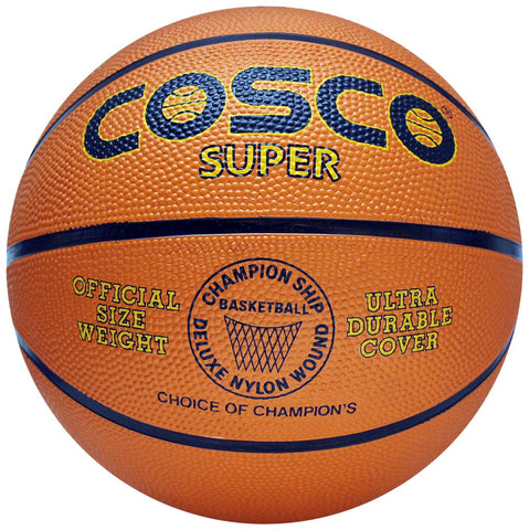 Cosco Super Basket Ball (Orange) - Prokicksports.com