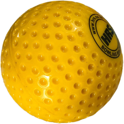 HRS Bowling Machine Cricket Ball - Yellow - Best Price online Prokicksports.com