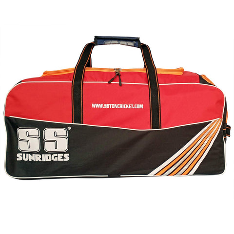 SS Blast Cricket Kit Bag with Wheels - Red/Black - Best Price online Prokicksports.com