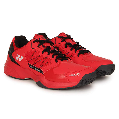 Yonex Lumio 2 Professional Power Cushion Tennis Shoes - Red - Best Price online Prokicksports.com