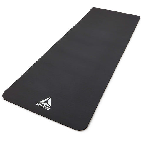 Reebok NBR Unisex Fitness Training and Yoga Mat - 7 MM (Black) - Best Price online Prokicksports.com