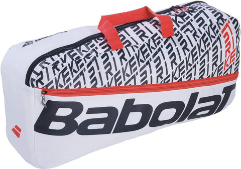 Babolat Duffle M Pure Strike Tennis Bag - White/Red - Best Price online Prokicksports.com