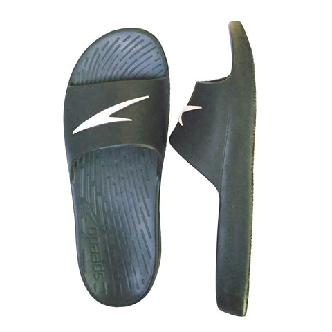 Speedo Extra-Light Water Resistant Flip-Flop Slippers - (Oxide Grey/White) - Prokicksports.com