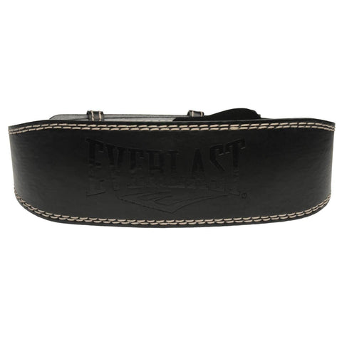 Everlast Leather Weight Lifting Belt with Padded Back Lining - Best Price online Prokicksports.com