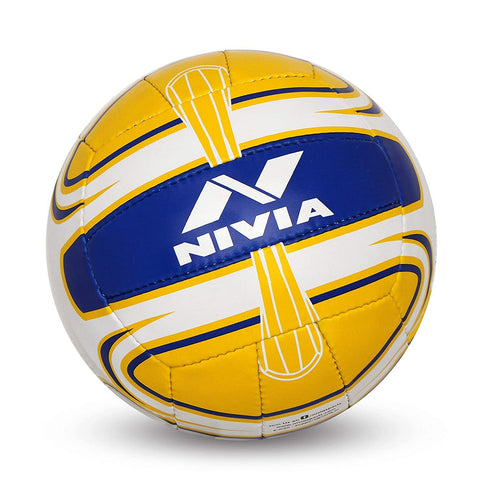 Nivia Super Synthetic Rubber Volleyball Size: 4 - Best Price online Prokicksports.com