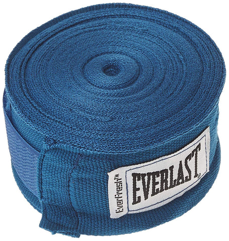 Everlast Boxing Hand Wraps (Blue, 120) - Best Price online Prokicksports.com