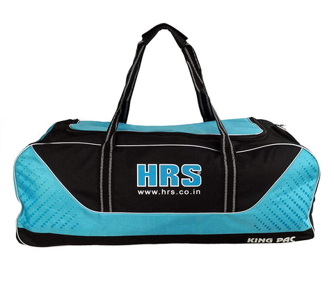 HRS Trolly Style Cricket Team Kitbag King Pac with Wheels, Blue/Black - Best Price online Prokicksports.com
