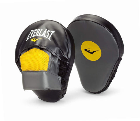 EVERLAST BOXING PUNCH MITTS MANTIS - GREY/BLACK - Prokicksports.com