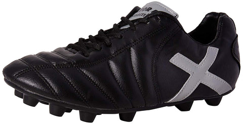 Vector X Dynamic Football Shoes (Black/Silver) - Best Price online Prokicksports.com