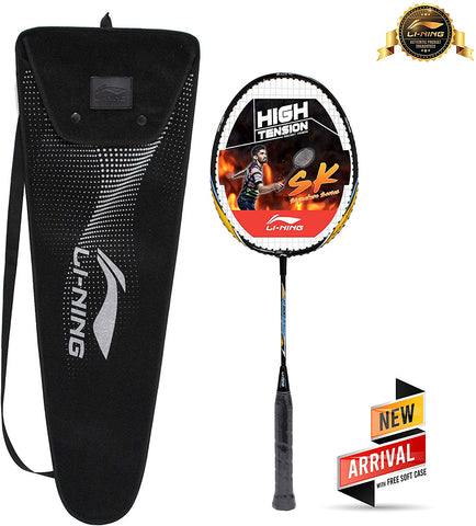 Li-Ning XP 800-JR Srikanth Junior Series Badminton Racquet (Black/Orange) with Case - Best Price online Prokicksports.com