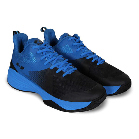 Nivia Phantom 2.0 Basketball Shoes for Men, Black/Blue - Best Price online Prokicksports.com
