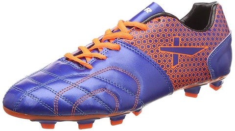 Vector X Breeze Football Shoes, Adult (Blue-Orange) - Best Price online Prokicksports.com