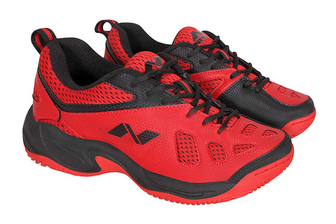Nivia Energy Men's Red Mesh Tennis Shoes - Best Price online Prokicksports.com