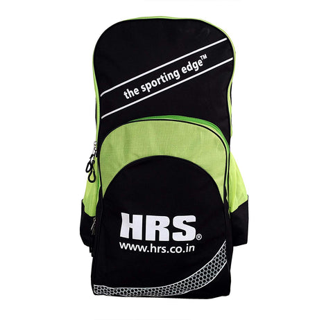 HRS Cricket Shoulder Kitbag, Black/Lime - Prokicksports.com