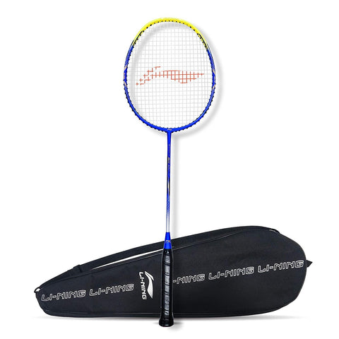 Li-Ning G-Force Superlite 3600 Strung Badminton Racquet Blue/Yellow - Best Price online Prokicksports.com